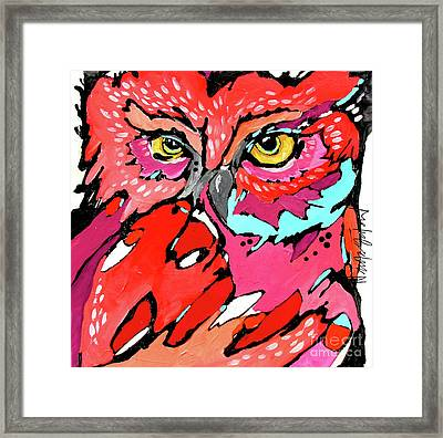 Puffed Up Framed Print