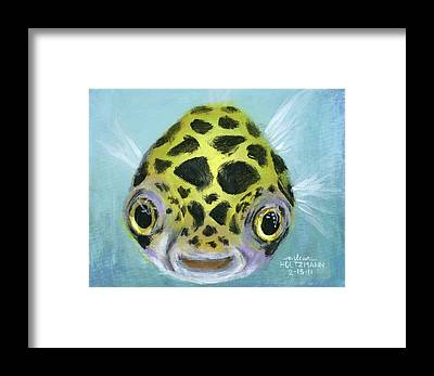 Fishes Framed Prints