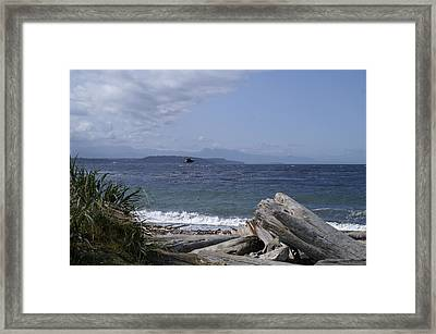 Puget Sound Framed Print