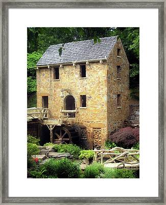 Framed Print featuring the photograph Pughs Mill - North Little Rock Arkansas by Gregory Ballos