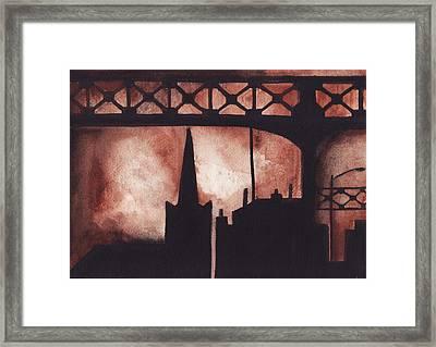 Pulaski View Framed Print