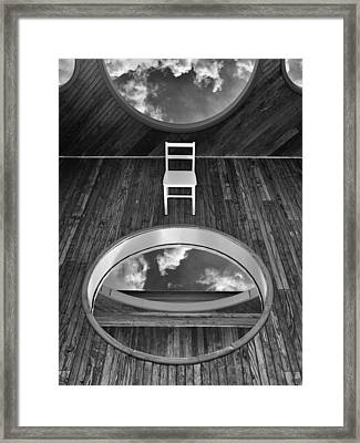 Up / The Chair Project Framed Print