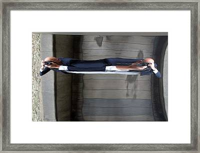 Pulled Apart Framed Print by Jez C Self