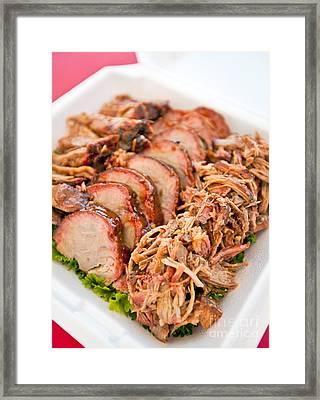 Pulled Pork Framed Print