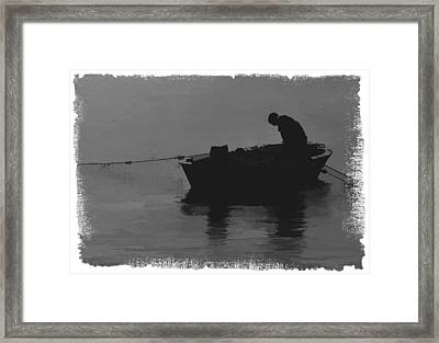 Pulling The Nets 2 Framed Print