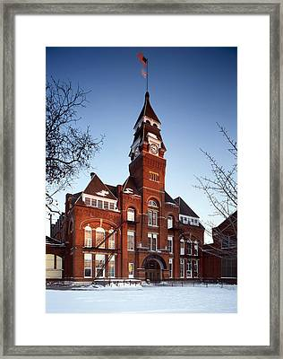 Pullman Palace Car Works Administration Framed Print