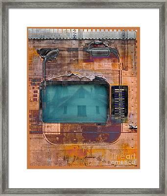 Pullman Reflections Framed Print by Chuck Brittenham