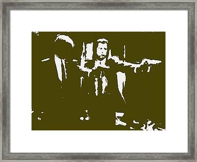 Pulp Fiction 2b Framed Print
