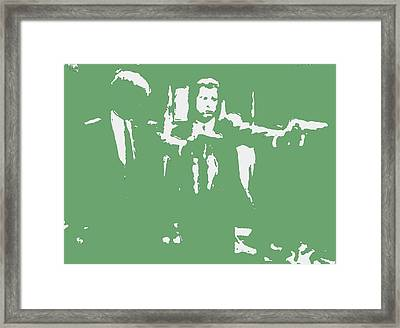 Pulp Fiction 2c Framed Print
