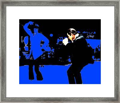 Pulp Fiction Dance 17a Framed Print