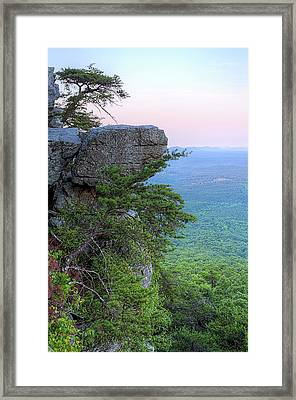 Pulpit Rock Mt Cheaha Framed Print by JC Findley