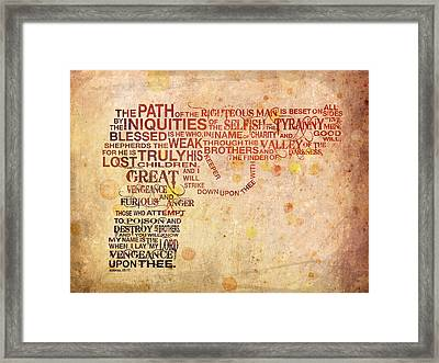 Pulpography Framed Print