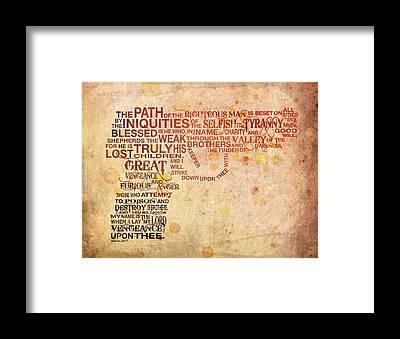 Bible Framed Prints