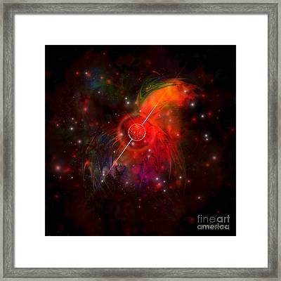 Pulsar Framed Print by Corey Ford