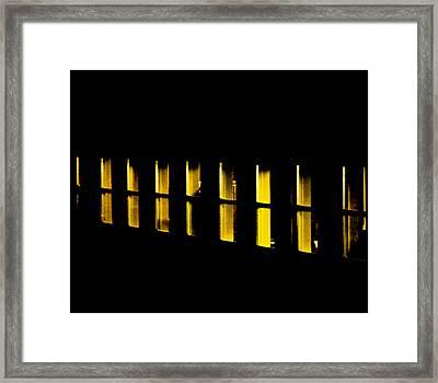 Pulse Framed Print by Odd Jeppesen