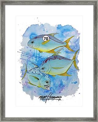 Pumpandgo Framed Print by Mutt Hubbard