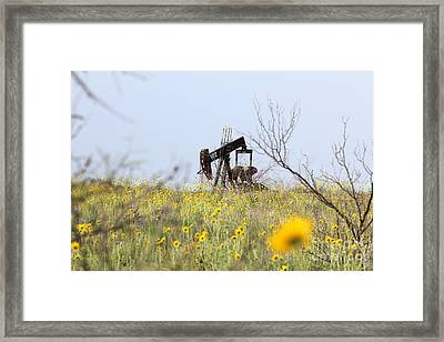 Pumpjack 122 Framed Print