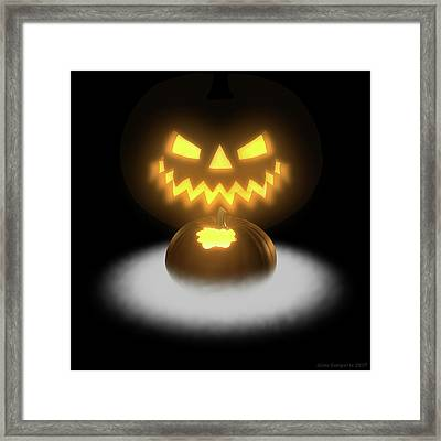 Pumpkin And Co II Framed Print