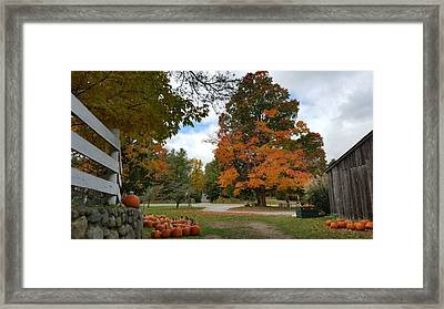 Pumpkin Mill Framed Print by 2141 Photography