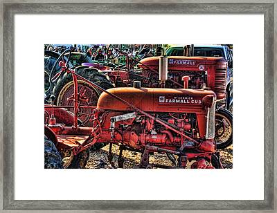 Pumpkin Season Framed Print by Kevin  Sherf