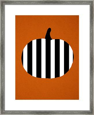 Pumpkin Framed Print by Art Spectrum