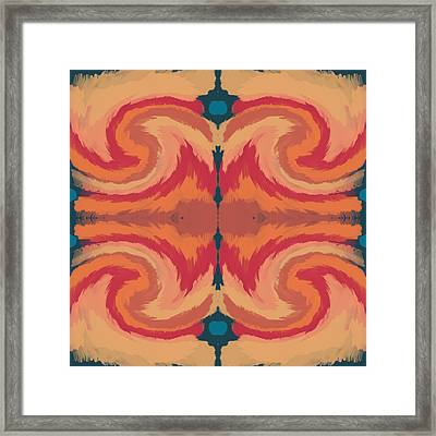 Pumpkin Spice- Art By Linda Woods Framed Print by Linda Woods