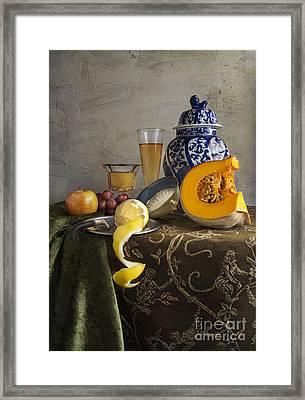 Pumpkin Still Life Framed Print