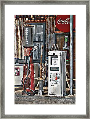 Framed Print featuring the photograph Pumps by Lee Craig