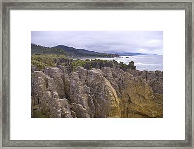 Punakaiki Framed Print by Andrea Cadwallader