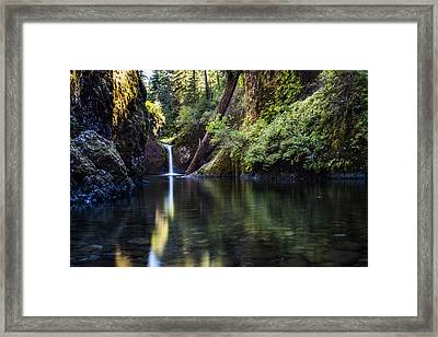Punch Bowl Falls Framed Print