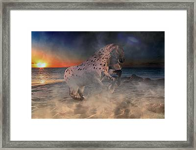 Punish Me No More Framed Print by Betsy Knapp