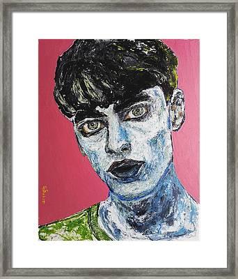 Punk Framed Print by George Sabin