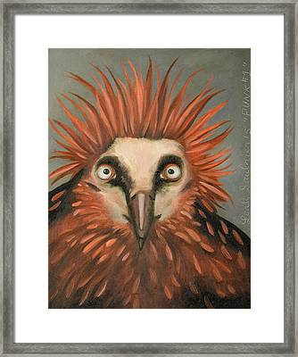 Punk Framed Print by Leah Saulnier The Painting Maniac
