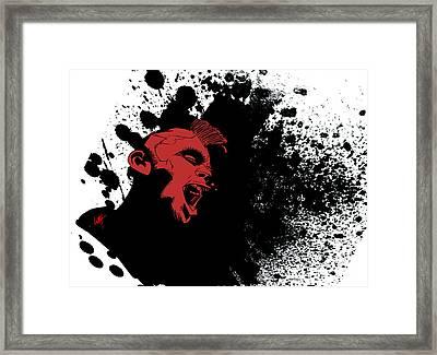 Punk Rock Framed Print by Wes Huffor
