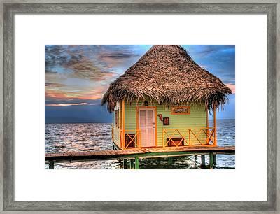 Punta Caracol Framed Print