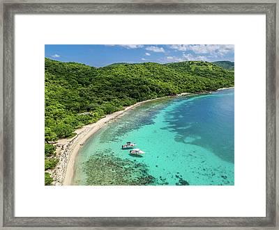 Punta Tamarindo Framed Print
