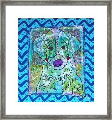 Pup Framed Print by Susan Sorrell