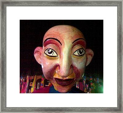 Puppet Kushi Mohamad Framed Print