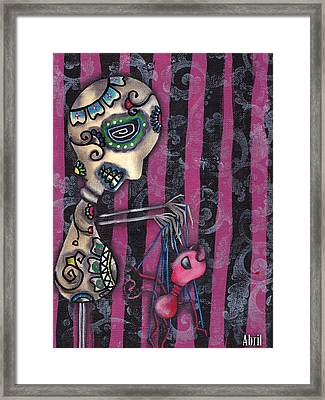 Puppet Master Framed Print by  Abril Andrade Griffith