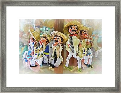 Puppets On A String Framed Print