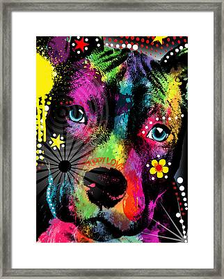Puppy  Framed Print by Mark Ashkenazi