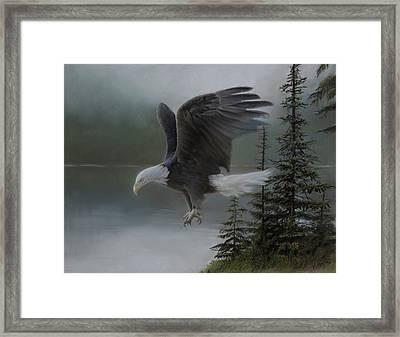 Purden Lake Framed Print