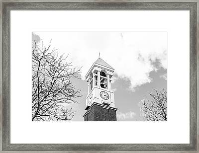 Purdue University Bell Tower Framed Print by University Icons
