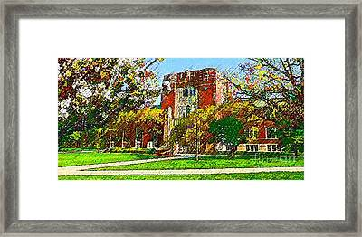 Purdue University Framed Print