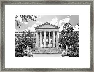Purdue University Hovde Hall Framed Print by University Icons