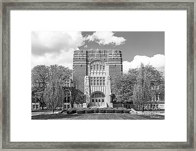Purdue University Memorial Union Framed Print by University Icons