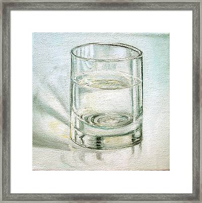 Pure And Simple 2 Framed Print by Irene Corey