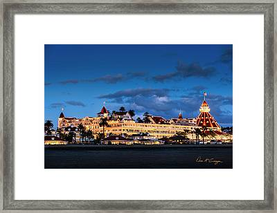 Pure And Simple Framed Print