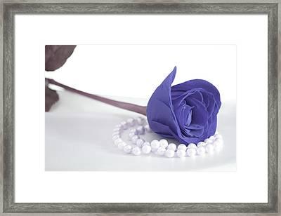 Pure Elegance Framed Print by The Art Of Marilyn Ridoutt-Greene