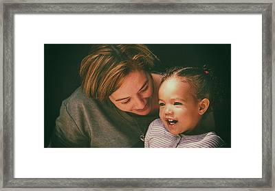 Framed Print featuring the photograph Pure Joy by Ryan Smith